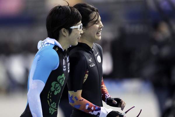 Speed Skating Olympic Qualifier - Day 1
