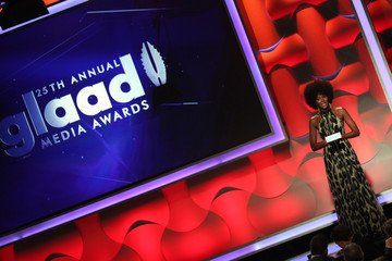 Naomi Campbell 25th Annual GLAAD Media Awards - Show