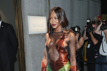 Naomi Campbell Tom Ford - Arrivals - September 2016 - New York Fashion Week