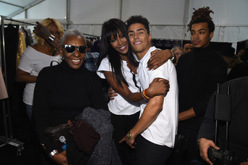 Naomi Campbell Quincy #TackleEbola At Naomi Campbell's Fashion For Relief - Mercedes-Benz Fashion Week Fall 2015