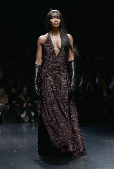 Naomi Campbell - Roberto Cavalli: Runway - Milan Fashion Week Womenswear Autumn/Winter 2012/2013