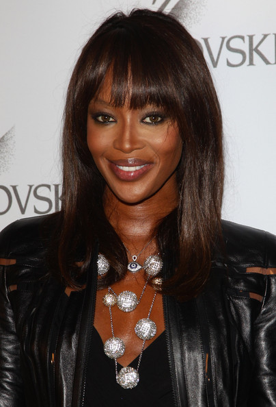 Naomi Campbell Naomi Campbell attends the Swarovski Fashionation at Palazzo Reale on June 7, 2011 in Milan, Italy.