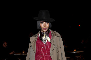 Naomi Campbell Marc Jacobs Fall 2020 Runway Show - Front Row