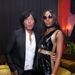 Naomi Campbell Warner Music Group Pre-Grammy Party - Inside