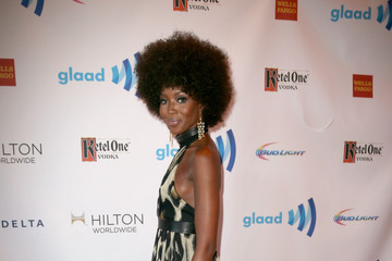 Naomi Campbell Ketel One Vodka Hosts The VIP Red Carpet Suite At The 25th Annual GLAAD Media Awards