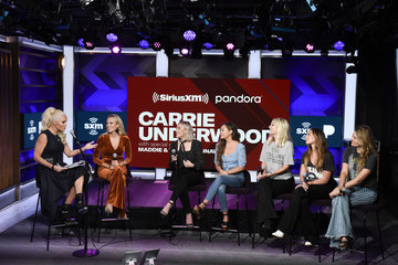 Naomi Cooke SiriusXM's Town Hall With Carrie Underwood In Los Angeles