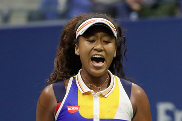Naomi Osaka 2017 US Open Tennis Championships - Day 2