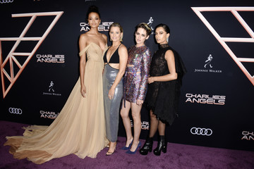 Naomi Scott Audi Arrives At The World Premiere Of 'Charlie's Angels'