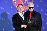 Singer Heino (Heinz Georg Kramm) and comedian Joerg Knoer attend the 'Narrhalla Soiree 2015 at Deutsches Theater on January 30, 2015 in Munich, Germany.