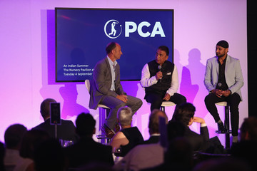 Nasser Hussain PCA Dinner At Lord's