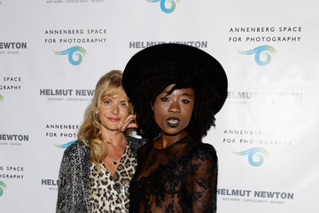 Nastassja Kinski Arrivals at the Annenberg Space Exhibit