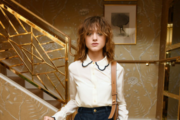 Natalia Dyer Glamour x Tory Burch Women To Watch Lunch