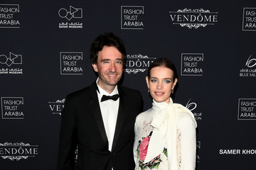Natalia Vodianova Antoine Arnault Doha Fashion Trust Arabia Red Carpet And Gala Dinner