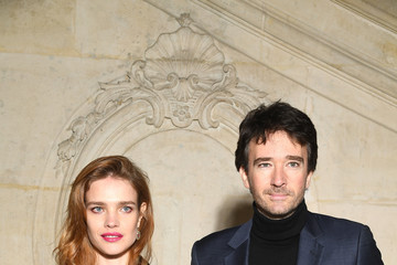 Natalia Vodianova Bernard Arnault Christian Dior : Photocall - Paris Fashion Week - Haute Couture Spring Summer 2018