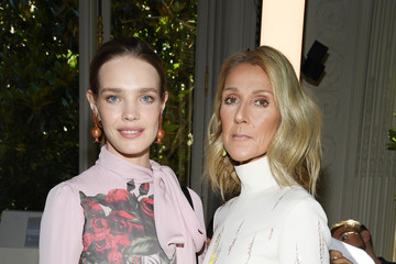 Natalia Vodianova Valentino : Front Row - Paris Fashion Week - Haute Couture Fall/Winter 2019/2020