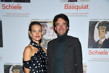 Natalia Vodianova Opening Of The New Exhibitions Jean-Michel Basquiat And Egon Schiele At The Fondation Louis Vuitton