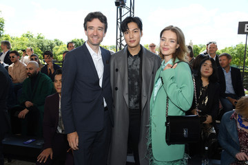 Natalia Vodianova Berluti: Front Row - Paris Fashion Week - Menswear Spring/Summer 2020