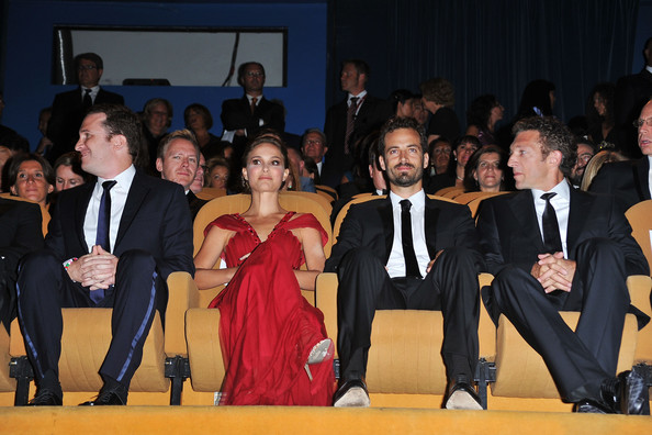 pictures of natalie portman and benjamin millepied. Natalie Portman and Benjamin Millepied - Opening Ceremony: 67th Venice Film