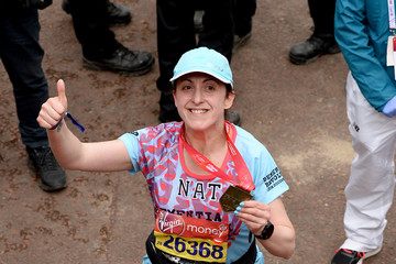 Natalie Cassidy Virgin London Marathon 2019