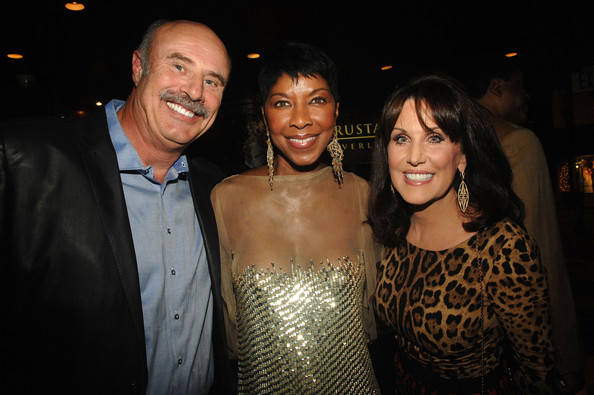 Dr phil mcgraw with robin and sons jay with wife erica and jordan