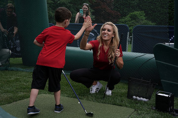 Natalie Gulbis President Trump Hosts White House Sports And Fitness Day