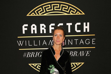 Natalie Joos Farfetch and William Vintage Celebrate Gianni Versace Archive hosted by Elizabeth Stewart and William Banks-Blaney