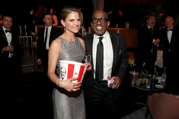 Natalie Morales The Weinstein Company and Netflix Golden Globe Party, Presented With FIJI Water, Grey Goose Vodka, Lindt Chocolate, and Moroccanoil - Inside