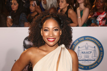 Natalie Paul 49th NAACP Image Awards - Red Carpet