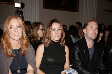 Natalie Pinkham Front Row & Celebrities: Day 1 - LFW AW16