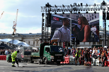 Natalie Pinkham F1 Live In London Takes Over Trafalgar Square - Car Parade