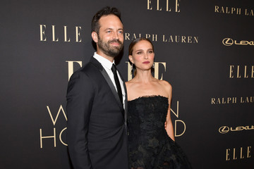 Natalie Portman Benjamin Millepied ELLE's 26th Annual Women In Hollywood Celebration Presented By Ralph Lauren And Lexus - Arrivals