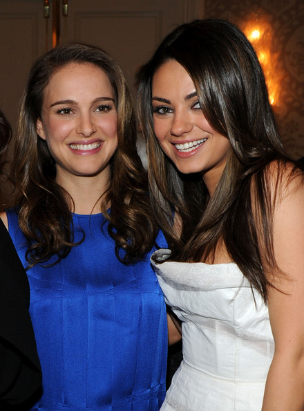 "Photo of Mila Kunis & her friend actress  Natalie Portman - Movie ""Black Swan"""