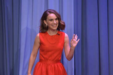 Natalie Portman Natalie Portman Visits 'The Tonight Show Starring Jimmy Fallon'