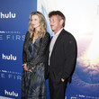 Natascha McElhone Premiere Of Hulu's 'The First' - Red Carpet