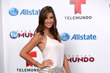 Natasha Dominguez Arrivals at Telemundo's Premios Tu Mundo Awards