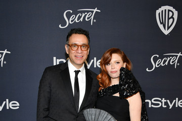 Natasha Lyonne Fred Armisen 21st Annual Warner Bros. And InStyle Golden Globe After Party - Arrivals