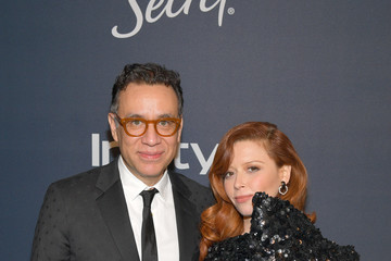 Natasha Lyonne Fred Armisen The 2020 InStyle And Warner Bros. 77th Annual Golden Globe Awards Post-Party - Red Carpet