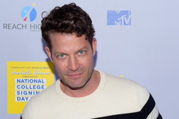 Nate Berkus MTV's 2017 College Signing Day with Michelle Obama - Arrivals