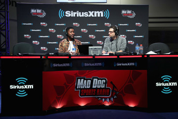 Nate Burleson SiriusXM At Super Bowl LIII