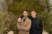 Nate Berkus (L) and Jeremiah Brent attend Nate + Jeremiah For Living Spaces at HNYPT on April 11, 2019 in Los Angeles, California.