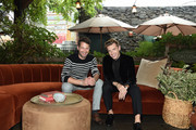 Nate Berkus and Jeremiah Brent attend the Nate + Jeremiah For Living Spaces Upholstery Collection Launch Dinner at Gallow Green at the McKittrick Hotel on September 25, 2018 in New York City.