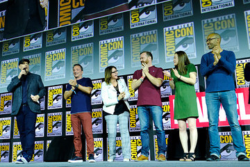 Nate Moore Victoria Alonso Marvel Studios Hall H Panel