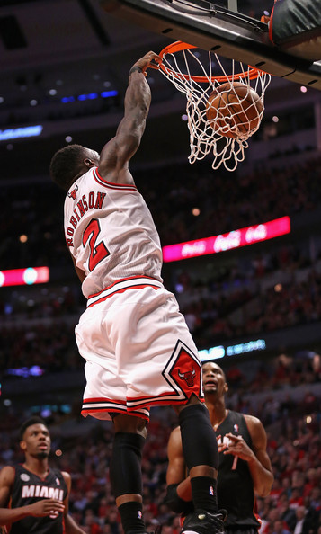 37b70561bc96 Nate Robinson Photos Photos - Miami Heat v Chicago Bulls - Zimbio