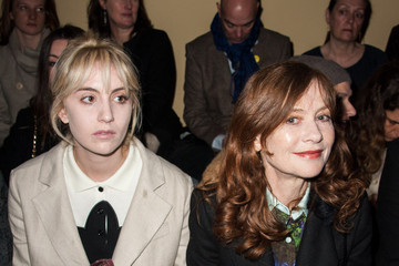Nathalie Baye Front Row at the Carven Show