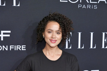 Nathalie Emmanuel ELLE's 25th Annual Women In Hollywood Celebration Presented By L'Oreal Paris, Hearts On Fire And CALVIN KLEIN - Red Carpet