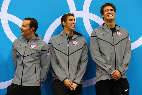 Nathan Adrian and michael phelps