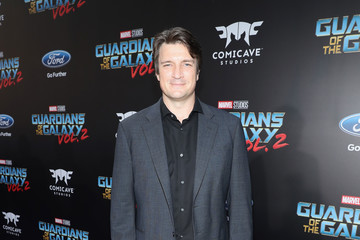 Nathan Fillion The World Premiere of Marvel Studios' 'Guardians of the Galaxy Vol. 2'