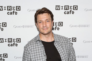Nathan Fillion WIRED Cafe @ Comic Con - Day 2