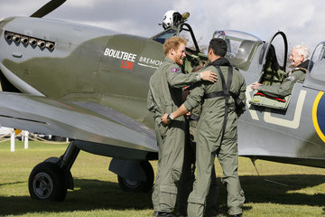 Nathan Forster Prince Harry Attends The Battle of Britain Flypast
