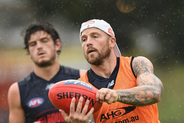 Nathan Jones Melbourne Demons Training Session